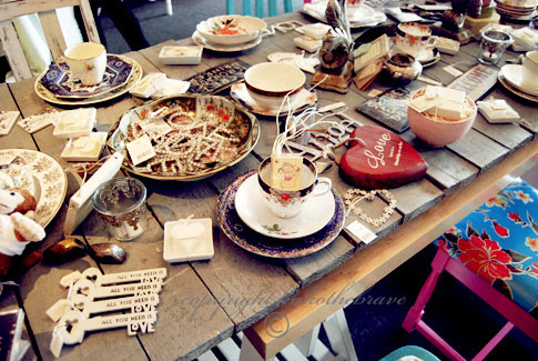 Vintage Table at Cherish 2011 Shop