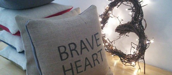 Brave Heart Cushion
