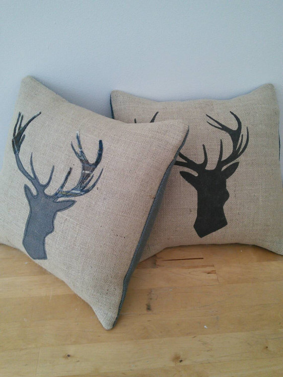 Stag Deer Cushion